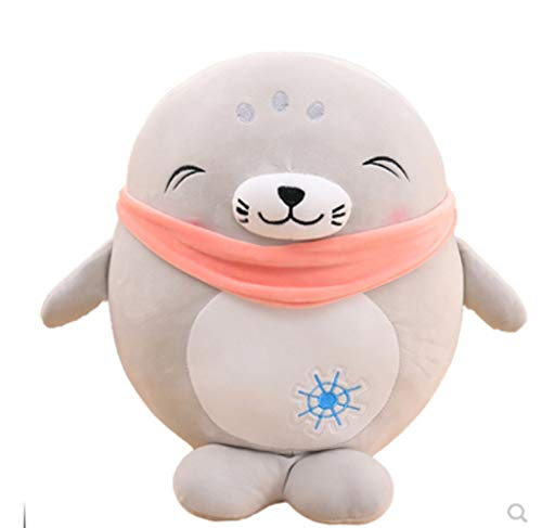 Therfk Lovely Seal Plush Toys 35Cm, Super Soft Sea Lion Dolls Stuffed Cute Animals Pillow para Niños Niñas Regalos De Cumpleaños