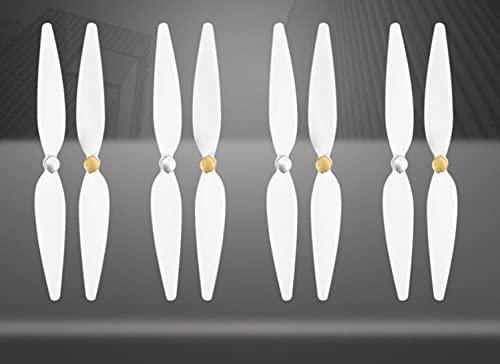 Sostituzione Drone Elica 4 Pairs 10inch per RC Xiaomi 4K Elica Bianco Pervane Drone Blade Elica Accessori Adatto per Xiaomi Mi Drone 4K Elica Drone Elica (Colore: Bianco) ( Color : White )