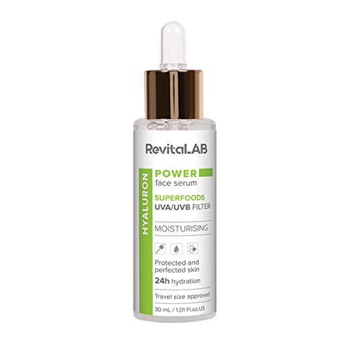 RevitaLAB Power, siero viso concentrato a base di supercibi, 30ml