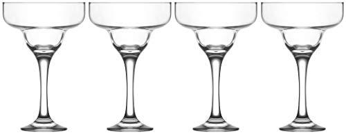 Epure Firenze Collection 4 Piece Margarita Glass Set (10 oz)