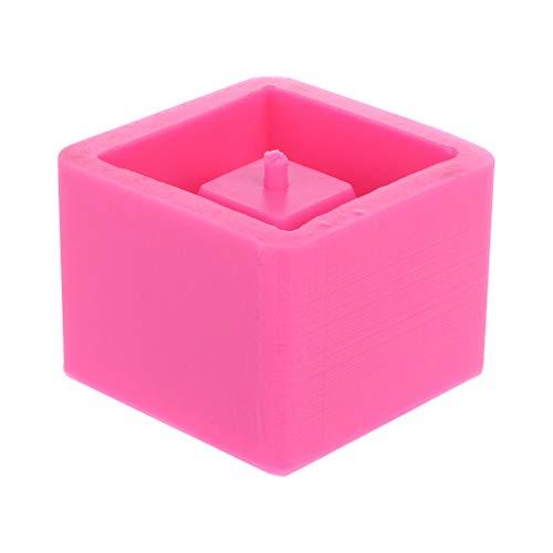 ZChun Cube Béton Silicone Moule, Planteur Pot De Fleurs Ciment Vase Moule Artisanat À La Main Jardin Décoration Outil