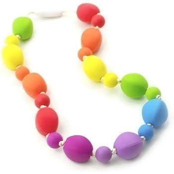 Chewelry sensorial CHEWS autismo ASD Collar chewlry ADHD SEN Cola De Sirena Azul