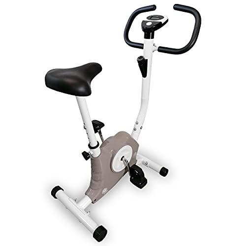 Fitness Bicicleta estática Ergo Bike Trimmrad Compacto Cardio Ergómetro (gris)