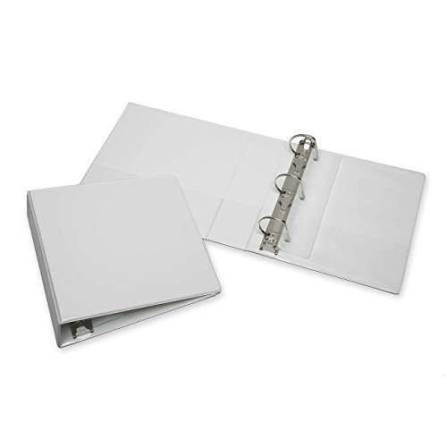 NSN3848673 Slant D-Ring View Binder, 2-1/2 Capacity, White (lci NSN3848673) by National Stock Number