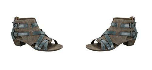Tamaris Sandalen 253709 enkelschacht Sandalen Dames Sneakers, Blauw, Eu 41