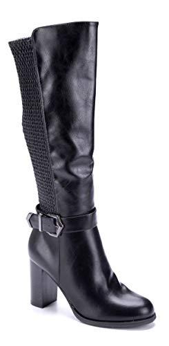 Schuhtempel24 Klassische Stiefel schwarz abbecourt