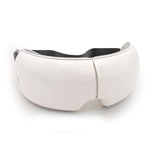 LIHUAN Intelligentes Augenmassagegerät Luftdruck Konstante Temperatur Heiße Kompresse Schlafmittel-Augenmaske Bluetooth