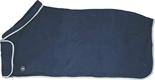 HKM 4057052310034 Couverture Polaire avec col Lisbonne 6000 Bleu fumé 135