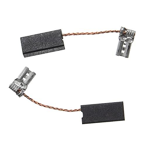 vhbw 2x escobilla carbono motor carbones 17,2 x 8 x 5 mm compatible con Bosch PBH 300 herramientas eléctricas