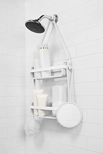 Umbra Flex Shower Mirror, White