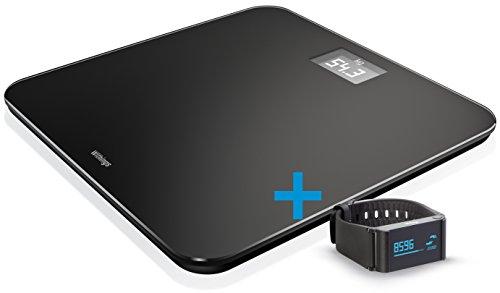 Withings Connected Health Kit - Báscula WS-30 Online y pulsera de registro de la actividad física Pulse Ox