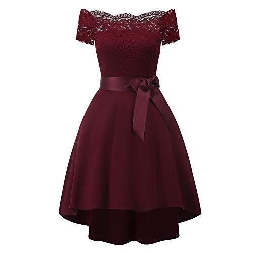 Mymei Women'S Off Shoulder A-Line Dresses