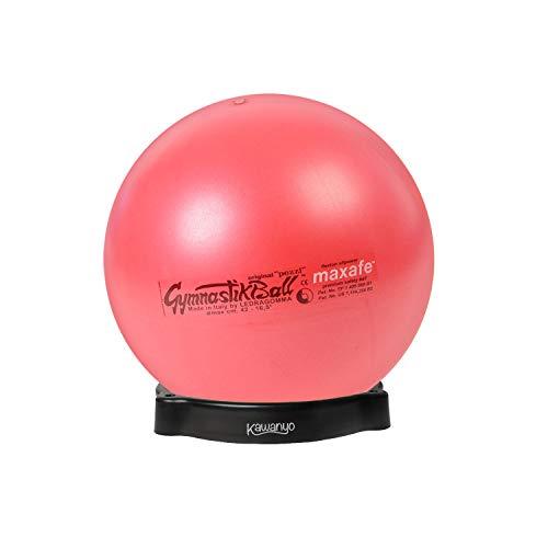PEZZI Original Pezziball MAXAFE 65 cm m. Ballschale rot Sitzball