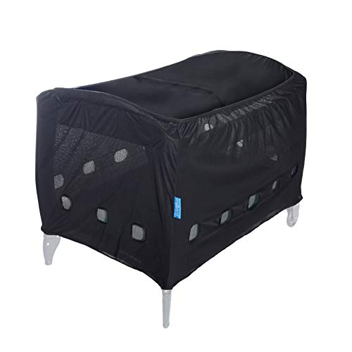 Milliard Darkening Tent for Pack N Play, Baby Playard Canopy with Safety Vents (Tent Only, Does Not Include Pack N Play)
