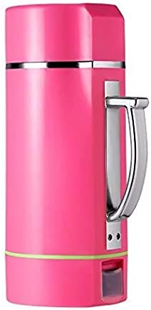 Kylinxsw Automatic Soymilk Grinding, Machine Soya-Bean Milk Maker Electric Portable Grain Beans Grinder Juicer Baby Food Blender (Color : Pink)