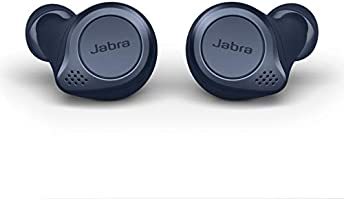 Jabra Elite Active 75t True Wireless Bluetooth Earbuds, Navy – Wireless Earbuds for Running and Sport, Charging Case...