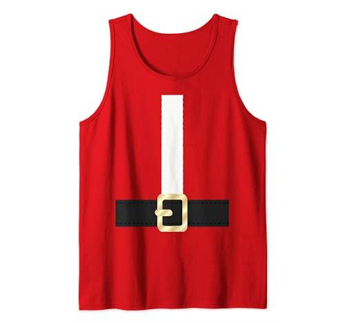 Santa Claus Suit Halloween Costume or Christmas Tank Top