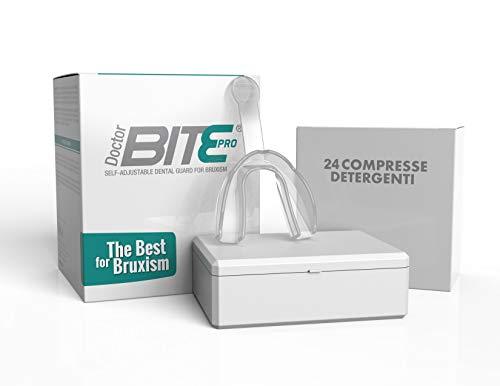 Dulàc - Doctor Bite Pro - Bite automodellante per combattere il Bruxismo (Trasparente)