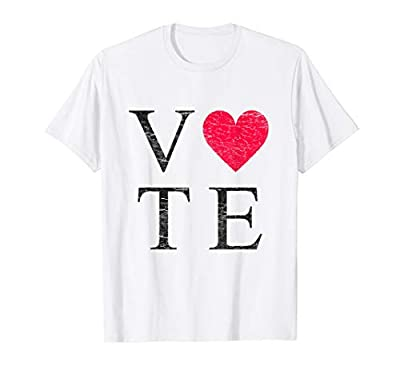 Vote Love Tshirt Choose Love Cool Women Men 2020 Election T-Shirt
