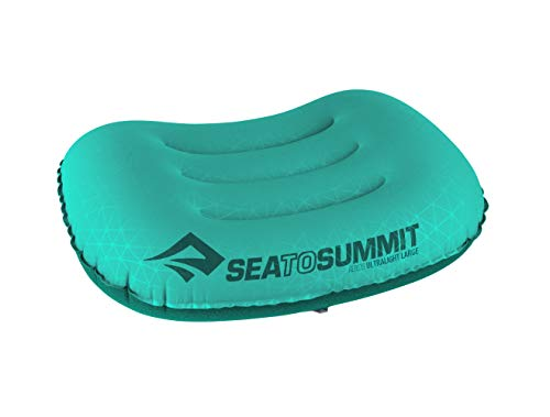 Sea to Summit Aeros Ultralight Pillow Large - Aufblasbares Reisekissen APILULLSF, Sea Foam Green