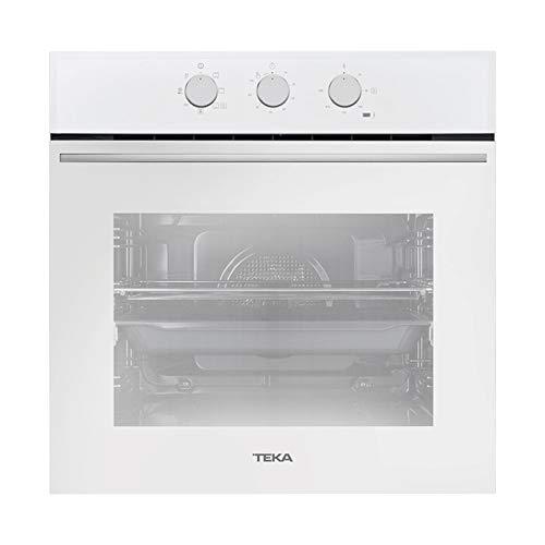 Teka | Horno Multifunción | Sistema de limpieza Teka Hydroclean® ECO | 6 Funciones de Cocinado | 60 cm | Color Blanco