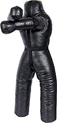 Bestzo Entraînement MMA Sports?Sac de Frappe Mannequin de Judo Noir Vide - Synthetic Leather Black - 70 inches (6 ft)