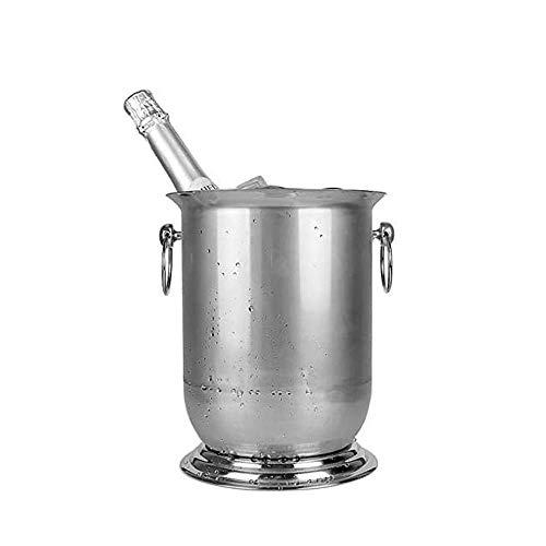 Cubitera para Hielo para el hogar/Bar Cubos Grandes de Metal de Acero...