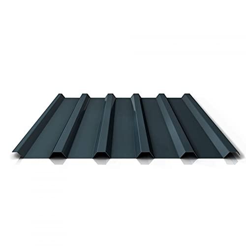 Trapezblech   Profilblech   Dachblech   Profil PA35/1035TR   Material Aluminium   Stärke 0,70 mm   Beschichtung 25 µm   Farbe Anthrazitgrau