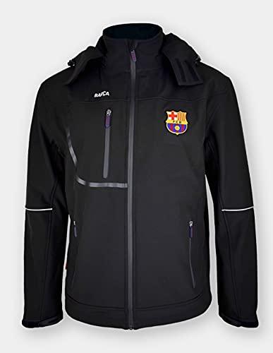 FCB Chaqueta Modelo Softshell New Marca FC Barcelona, XL