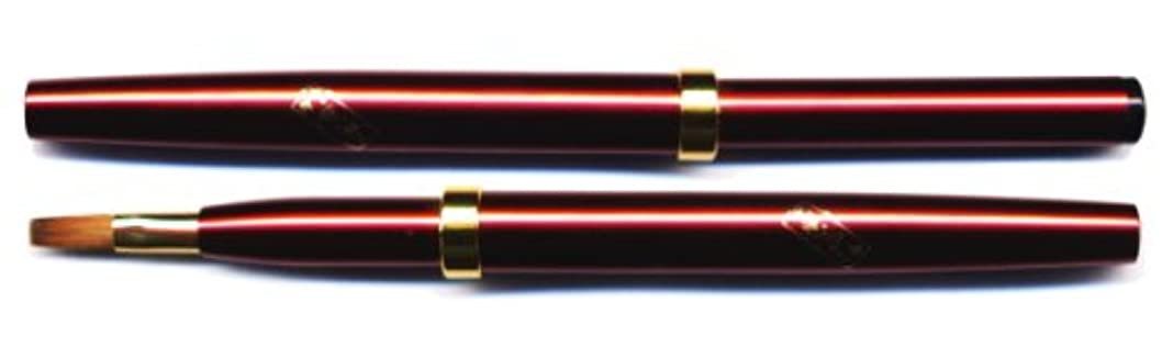 ソーシャルレタステント【名入れ無料】竹宝堂化粧筆(メイクブラシ)リップブラシ L-8/熊野筆