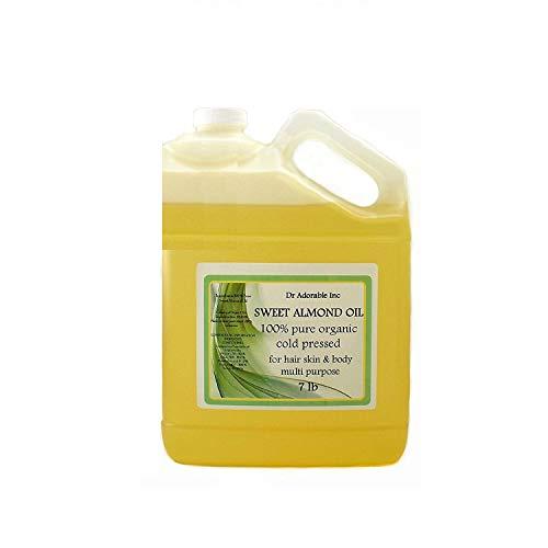 Sweet Almond Oil Pure Organic 7 Lb/1 Gallon