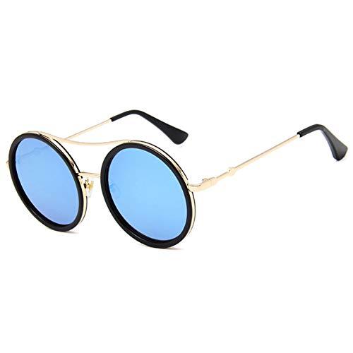 Retro Ronde Zonnebril Vrouwen Luxe Designer Spiegel Zonnebril Hoge Kwaliteit Vintage