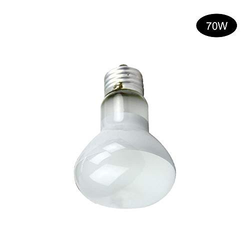 IHOMYIPET Foco de luz diurna, lámpara de vapor de mercurio de reptil UV UVA UVB bombilla de calor E27 rosca rosca/tortuga D3 combinación de calor y luz