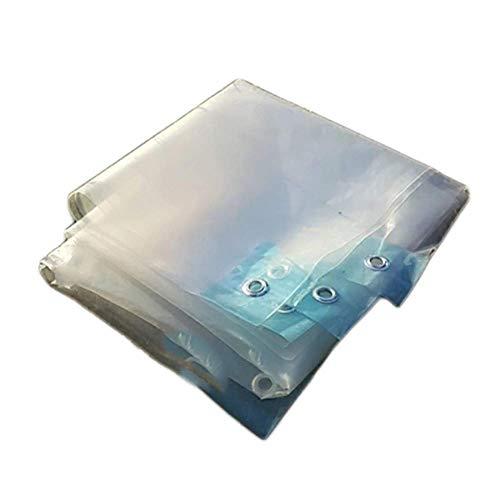 Transparente Plane Wasserdicht Hochleistungs-Kunststofffolie Anti-Aging-Isolierung Pe, Abdeckung für Zeltcamping, Hängematte, Pool, Garten, E-P, 3x4M