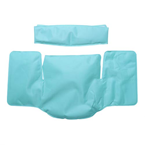 ARTLILY Kühlkissen Gel Kühlpads Wiederverwendbare Wärme- Kältetherapie Nackenkissen Schulterkissen für Rücken Schulter Schmerzlinderung (blau)