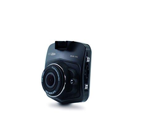 Caliber DVR110 Dashkamera, Blickwinkel horizontal, Display, Akku, G-Sensor, Bewegungserkennung, Loop Aufnahme Schwarz