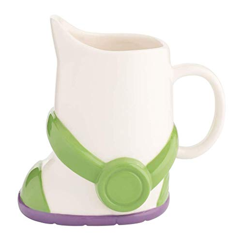 Vandor Disney Toy Story Buzz Lightyear Boot 24 oz. Sculpted Ceramic Mug