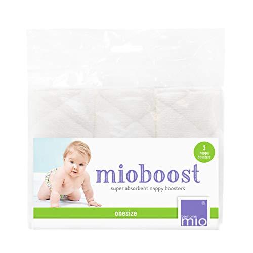 Bambino Mio, mioboost Saugeinlage, 3er Packung, Weiß