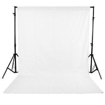 SHOPEE BRANDED 8 x12 FT WHITE LEKERA BACKDROP PHOTO LIGHT STUDIO PHOTOGRAPHY BACKGROUND (pack of 1)