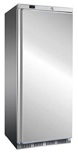 Edelstahl Tiefkühlschrank 600 Liter Kühlschrank Gefrierschrank Kühltruhe Gefrierer Edelstahlkühlschrank Gastonomietiefkühlschrank 777x695x1895 mm