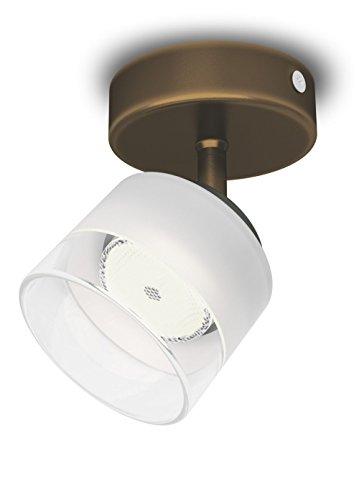 Philips 533300616 Fremont Luminaire d'Intérieur Spot LED Métal Bronze 4 W