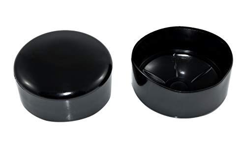 SN-TEC Rohrkappe/Fußkappe/Pfostenkappe für Rundrohr 75-76mm = 3 Zoll z.b. für Fahnenstangen (5 Stück)
