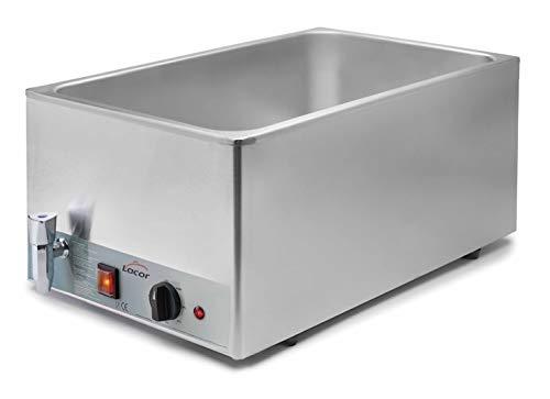 Lacor 69036 Bain Marie Électrique en Inox Gastronorm 1 / 1 230 V