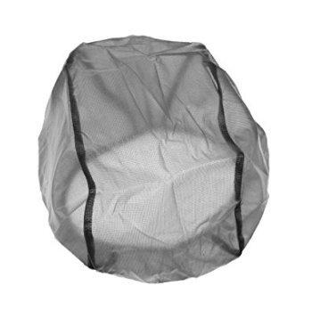 M-G-X Wasserdichter und staubdichter Helm Regenschutz Helmüberzug für Radfahren Regenschutz (schwarz)