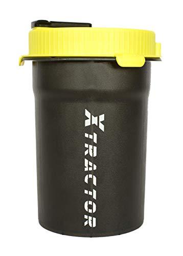 XTRACTOR - Der erste Proteinpulverportionierer - Proteinpulver schnell, einfach und sauber portionieren - 6 fertige Portionen schnell vorbereiten