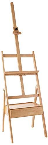 ZFFSC Easel, multifunctionele massief houten tekenbord, bezet met lade schets schetsen Easel, multifunctionele kunst gereedschap