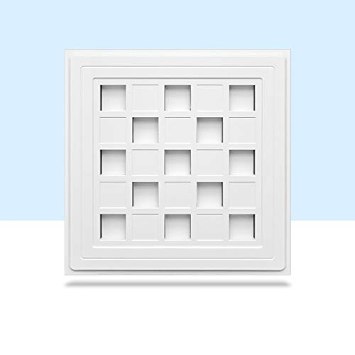 RongWang Ventilador de ventilación 30 * 30, Ventilador de Campana de ventilación de bajo Ruido para Pared de baño, Extractor de Aire silencioso, Tubo de Pared, Extractor de Aire