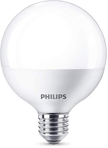 Philips ampoule LED Globe E27 15W Equivalent 100W Blanc chaud