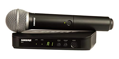 Shure BLX24/PG58 Wireless Microphone System with PG58 Handheld Vocal Mic