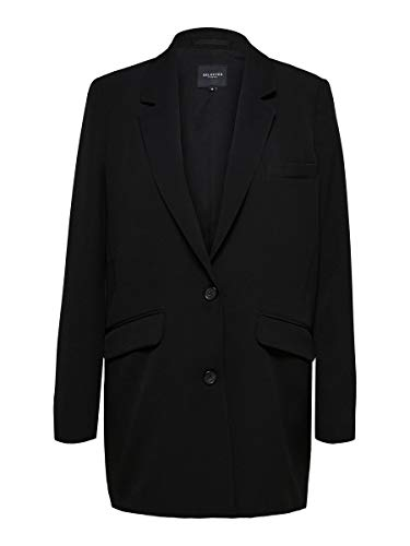 SELECTED FEMME Female Blazer Einreihiger 40Black